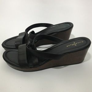 Cole Haan Air Suzette Wedge Thong Sandal 9